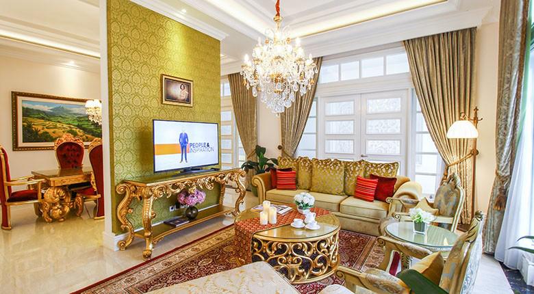 Bedroom Apartemen Rumah Klasik (Malibu)