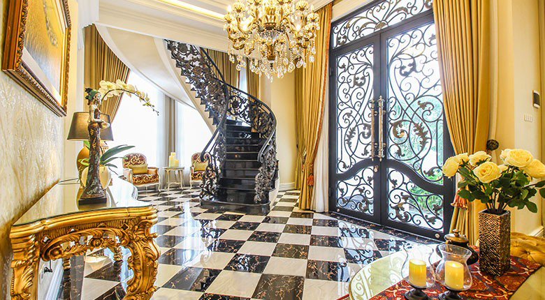 Living Room Rumah Klasik (Malibu)